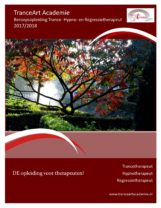 download de brochure voor Trancetherapeut en Hypnose en Regressietherapeut